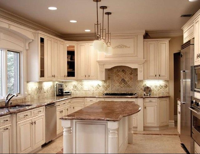 Pictures Of White Glazed Kitchen Cabinets - Sarkem.net