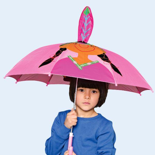 Lasten sateenvarjo, 4 €, Tiger, E-taso.