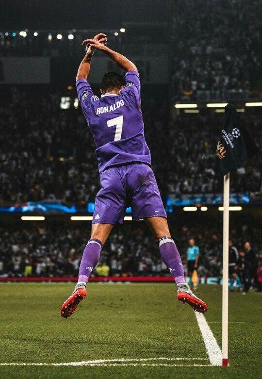 Ucl Final 2017 Ronaldo Football Player Ronaldo Cristiano Ronaldo Celebration