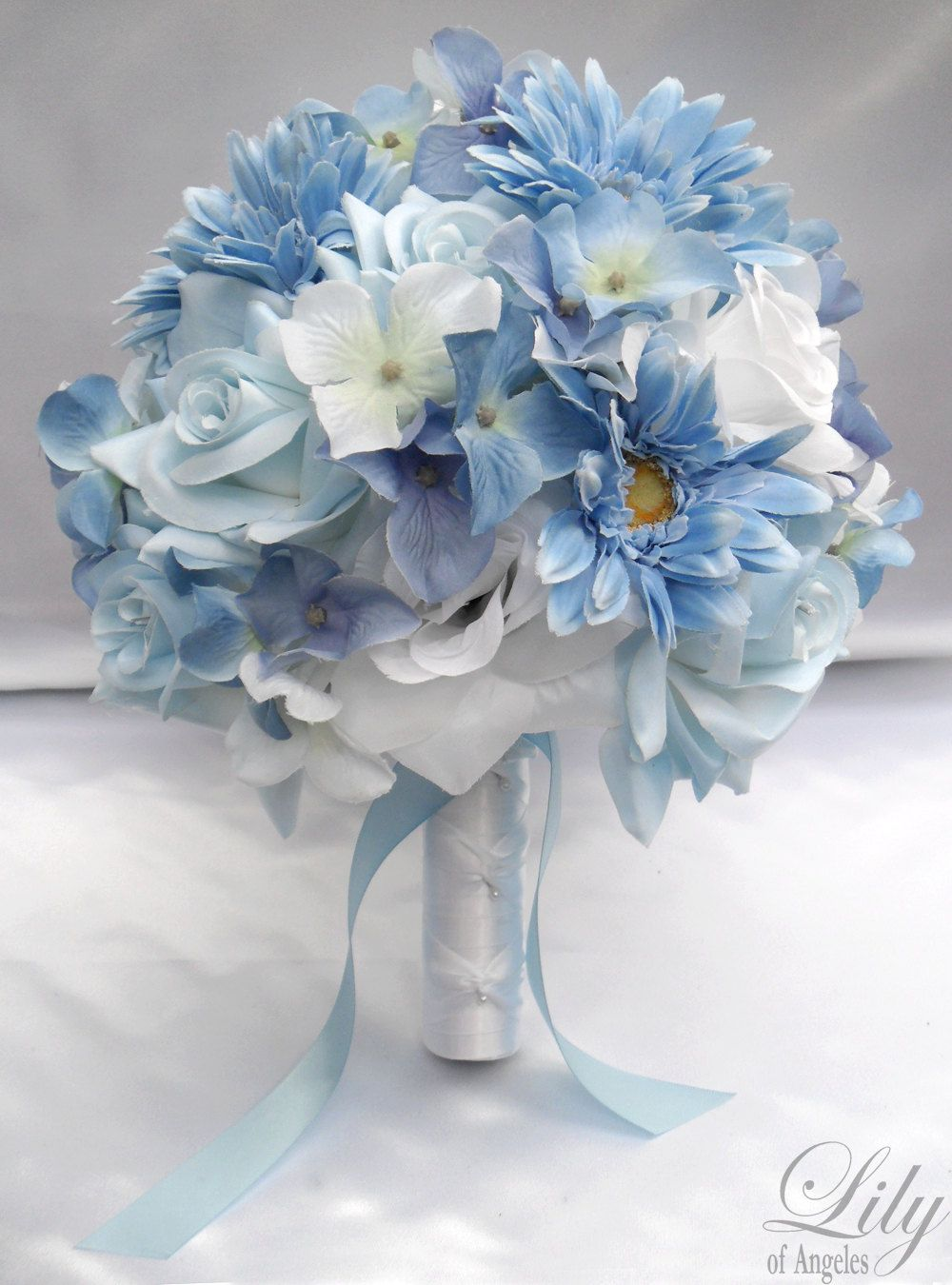 wedding bouquet, bridal bouquet, bridesmaid bouquet, silk