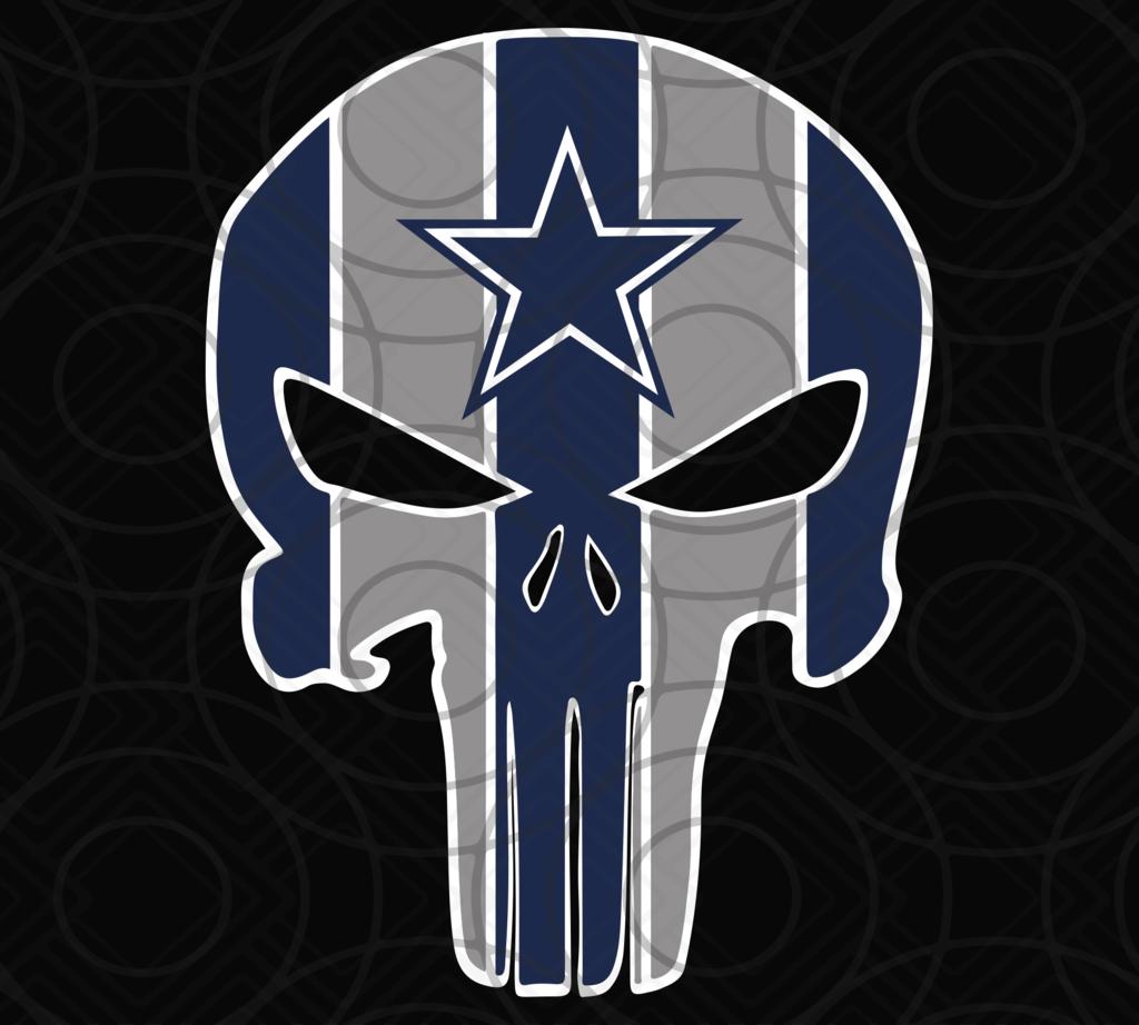 Dallas Cowboys, Dallas Cowboys svg, Punisher Cowboys svg