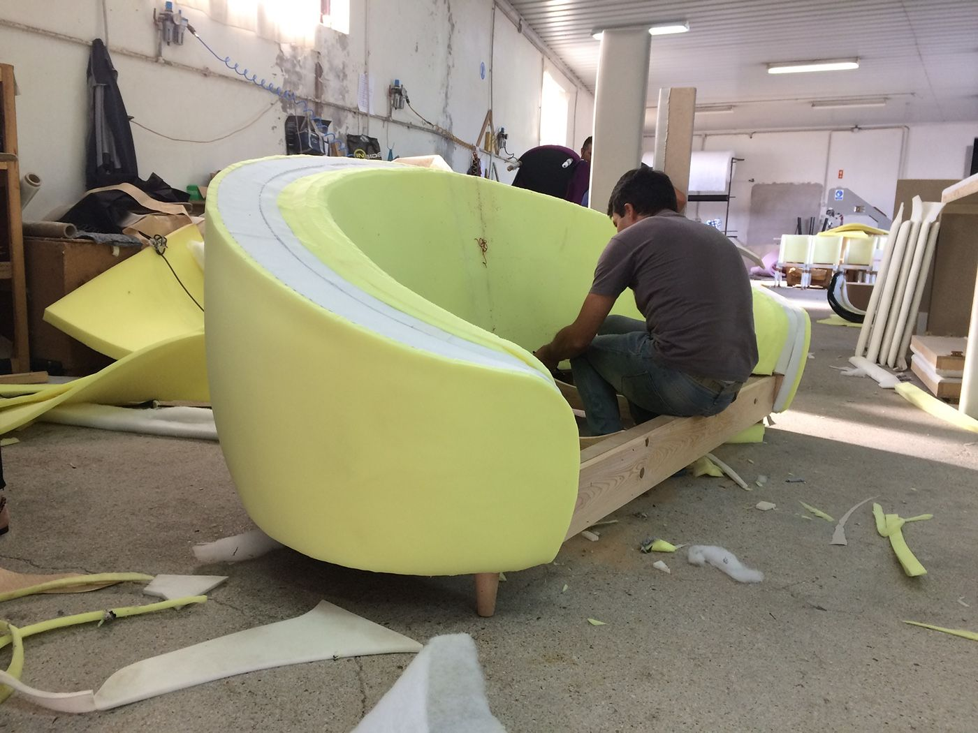 Ruby Sofa On Behance Diy Furniture Couch Sofa Frame Sofa Upholstery