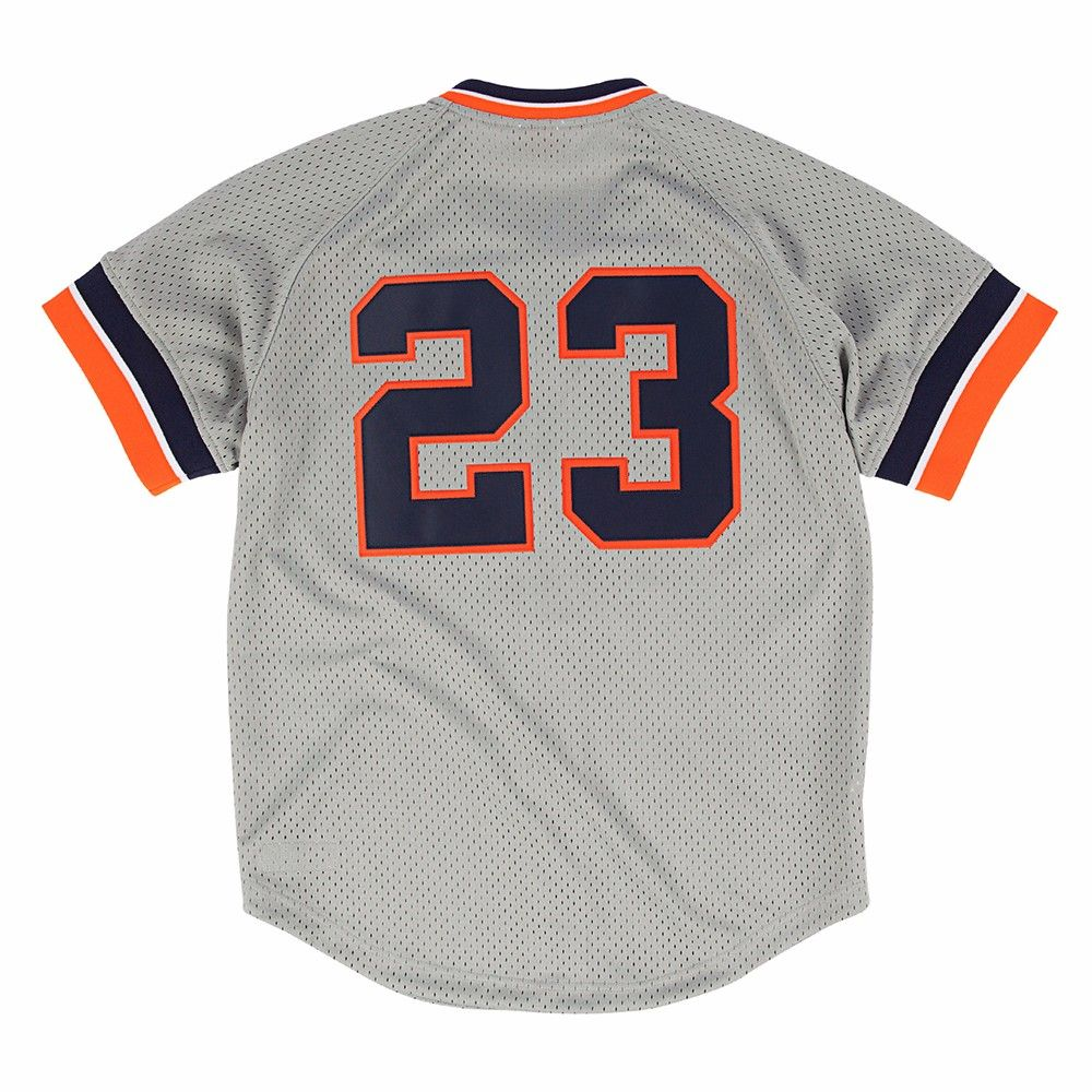 35c9e78e361 MLB Mitchell   Ness Authentic Batting Practice Throwback Jersey Collection  Men s Ness Authentic Batting