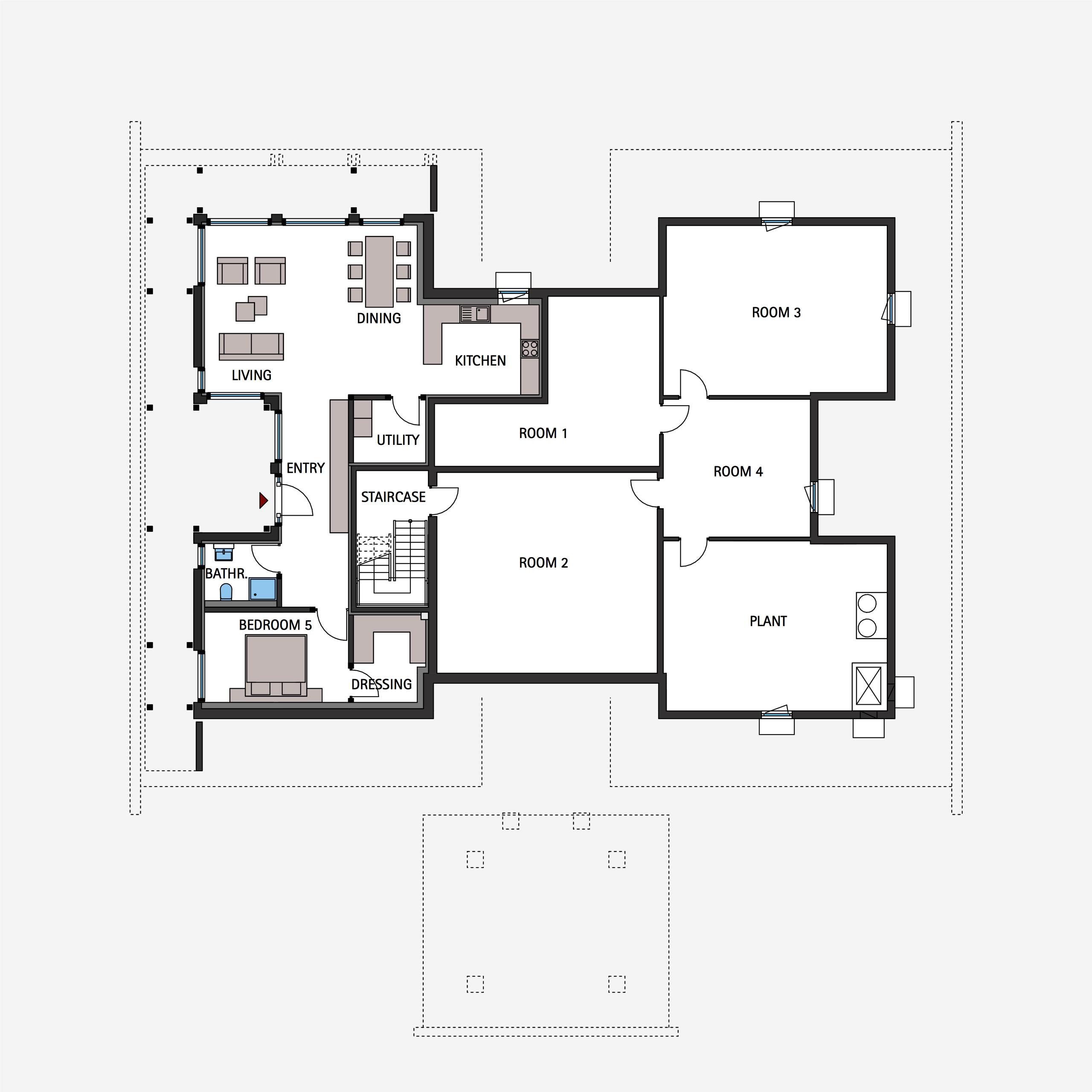 12+ Full house floor plan ideas