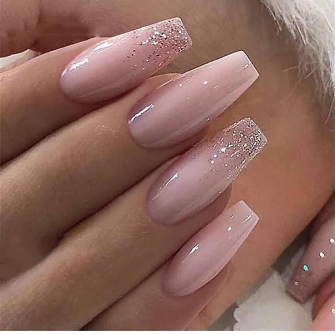 The Latest Coffin Nails Design For Fall And Winter Ombre Acrylic Nails Pink Acrylic Nails Pink Nails