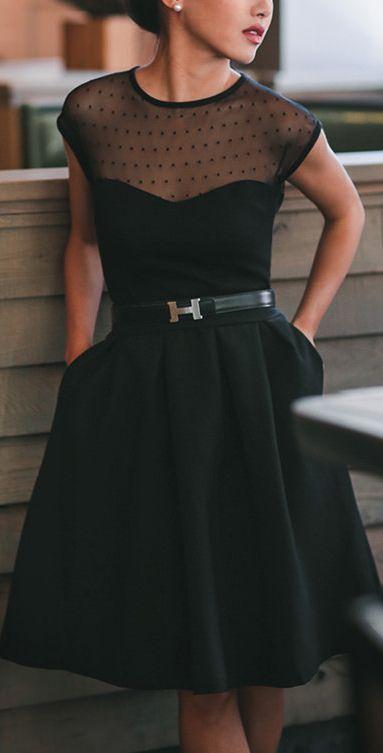 Pinterest Black Dresses