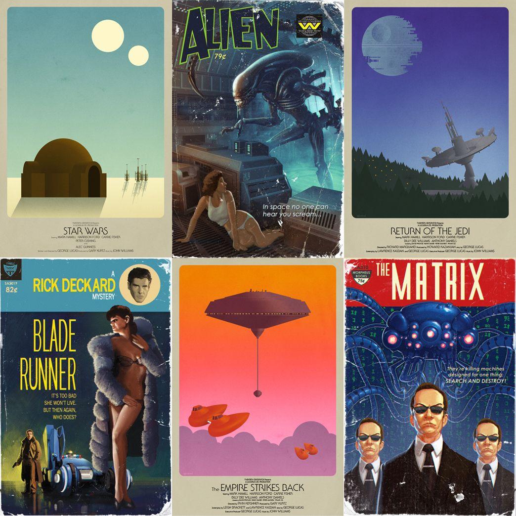 Science Fiction Graphic Novels: If Star Wars, Alien, Blade Runner, & The Matrix Were Pulp
