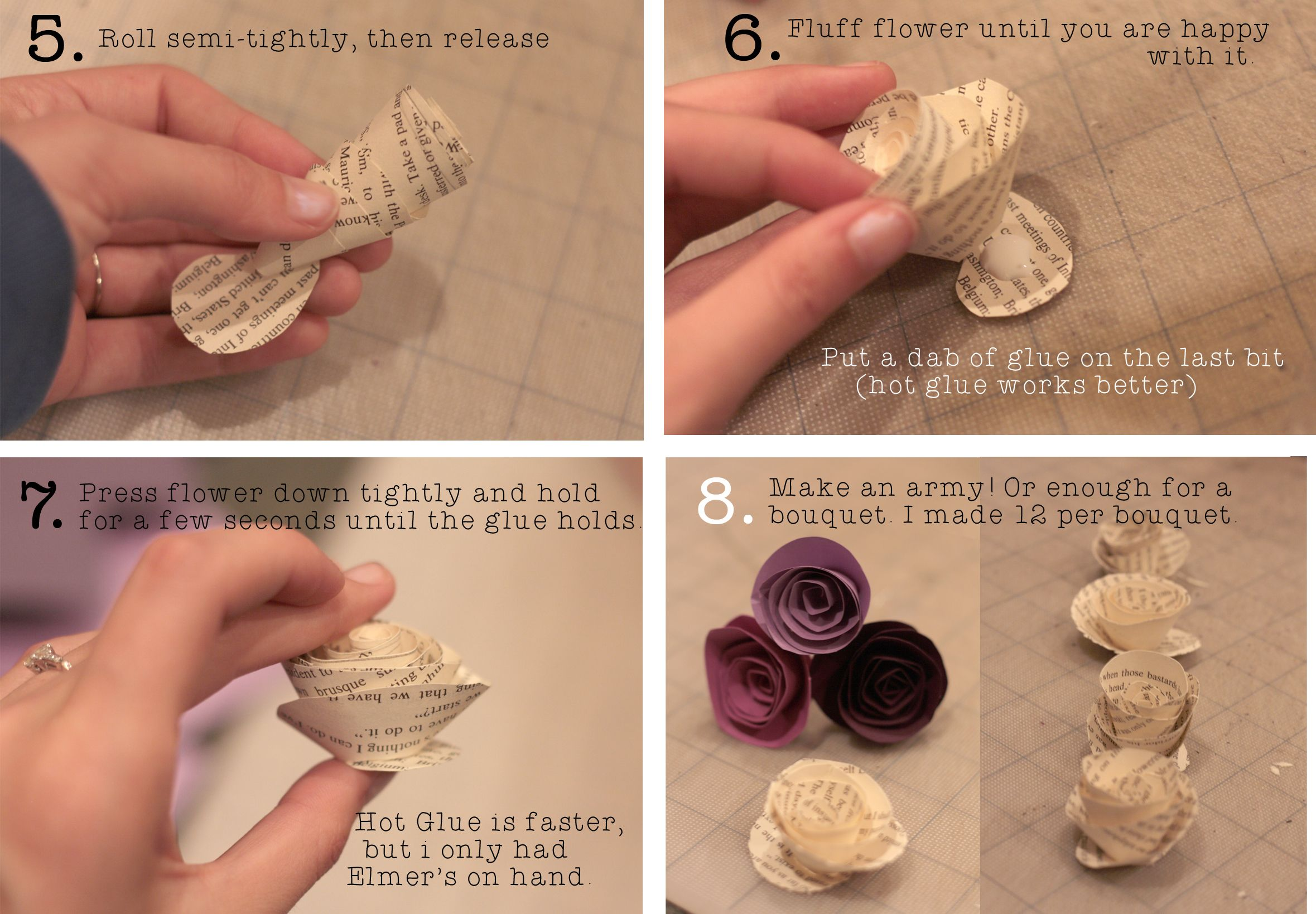 Paper flowers out of book pages choice image flower decoration ideas how to make paper flowers from book pages gallery flower amazing how to make paper flowers mightylinksfo