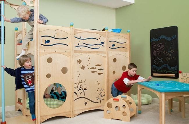 Wonderful Cool Beds For Childrenu0027s Rooms   Rhapsody Beds Of CedarWorks