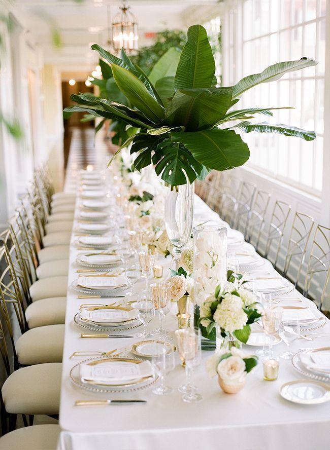 Green Gold Estate Wedding Wedding Decorations Pinterest