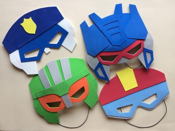Imagenes Mascaras De Transformer: Mascaras EVA - Transformers Recue Bots