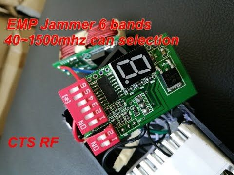 2016 CTS EMP jammer for sale frequency 40mhz to 1500Mhz can