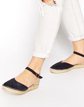65d1f8a15b9 Park Lane Flat Suede Espadrille Shoes   ideas para vestir ...