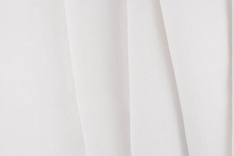 Britex Fabrics -  Semi-Sheer White Linen - Linen - Fabric