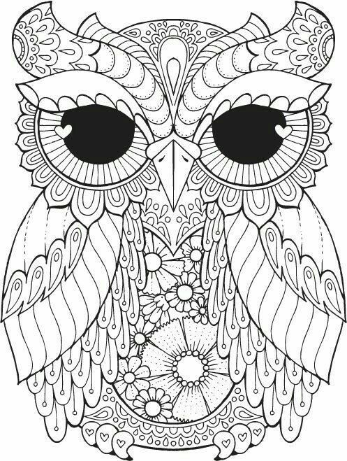 Pin By Robin Brown On Coloring Pages Owl Coloring Pages