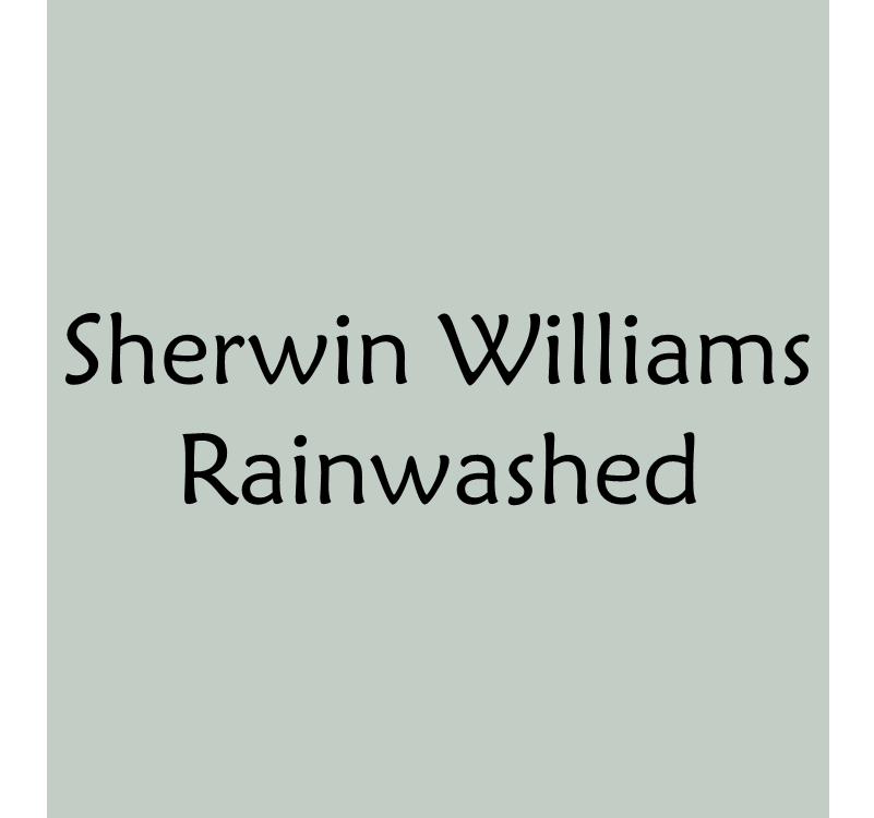 Blue Green Gray Paint Colors Rainwashed By Sherwin Williams Bonnieprojects Choosing