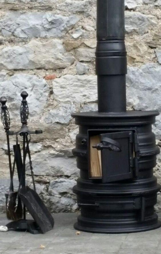 Pin de adriana podesta en de campo estufas cocina a for Estufas artesanales a lena