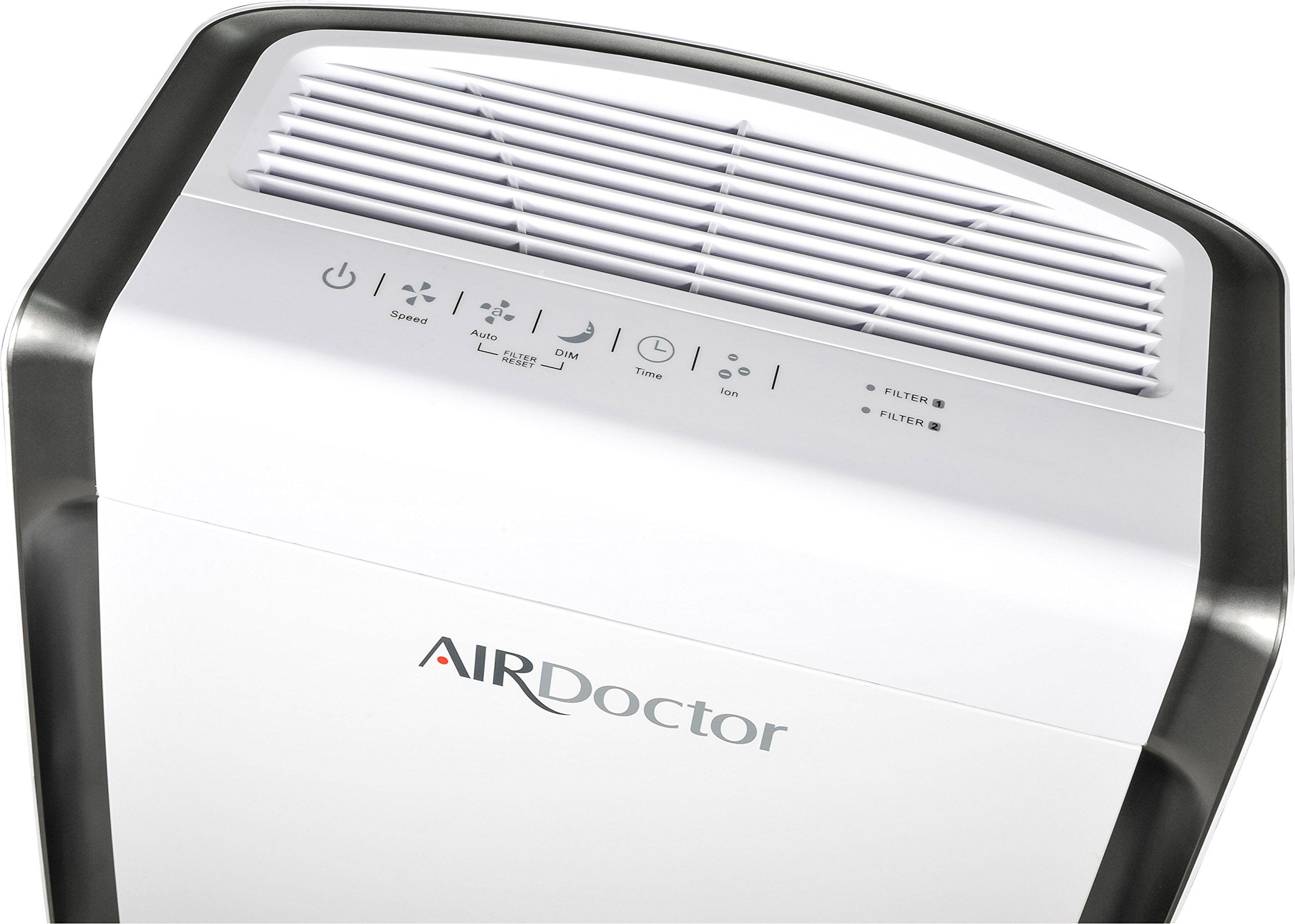 4 in1 Air Purifier UltraHEPA Carbon and VOC Filters. Air