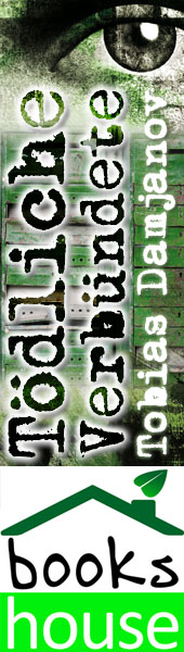 """Tödliche Verbündete - Detektei Damjanov 3"" von Tobias Damjanov ab September 2014 im bookshouse Verlag. www.bookshouse.de/banner/?07195940145D1F57111B0805575C4F163BC6"