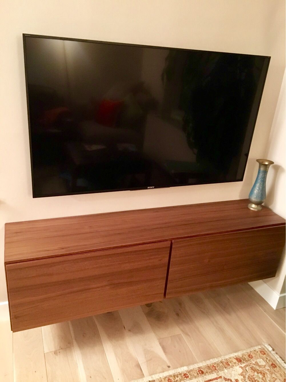Meuble Tv Bo Concept Rachelle S Living Room With Lugano Media Unit Wall Mounted