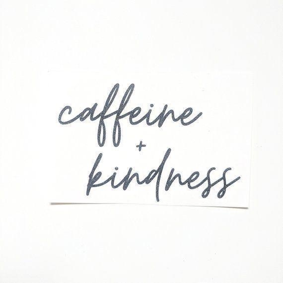 Coffee Sticker, Laptop Sticker, Caffeine Decal, Gift for Mom, Coffee Mug, Coffee Mug Decal, Coffee Gift, Mom Fuel Decal, Coffee Decal