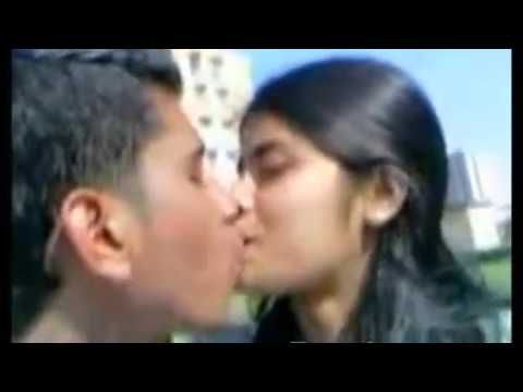 Boy And Girl Kissing Her Girfriend In Park School Boy And Girl