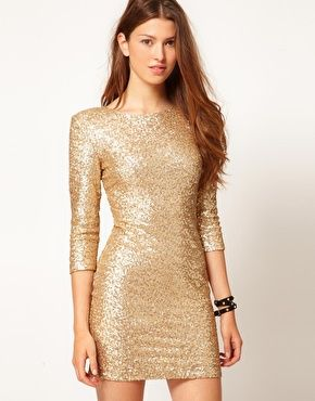 Clubbing Mini Dresses Google Search Vestidos Dorados