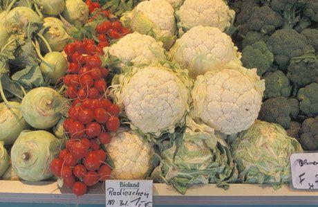 Obst und Gemüse waren so ziemlich die ersten Lebensmittel, die ich in Bioqualität eingekauft habe.   Ganz am Anfang waren es Zitronen und Orangen, wenn ich die Schale verwenden wollte. Dann war es Obst und Gemüse, dass ich gerne mit Schale esse und mittlerweile ist es so ziemlich alles.