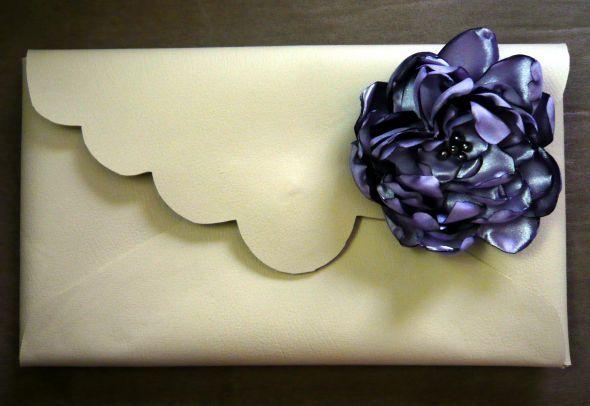 Bridesmaid Bouquet Alternative: Bridesmaid Clutch :  wedding bridesmaids diy flowers Bridesmaid Clutch
