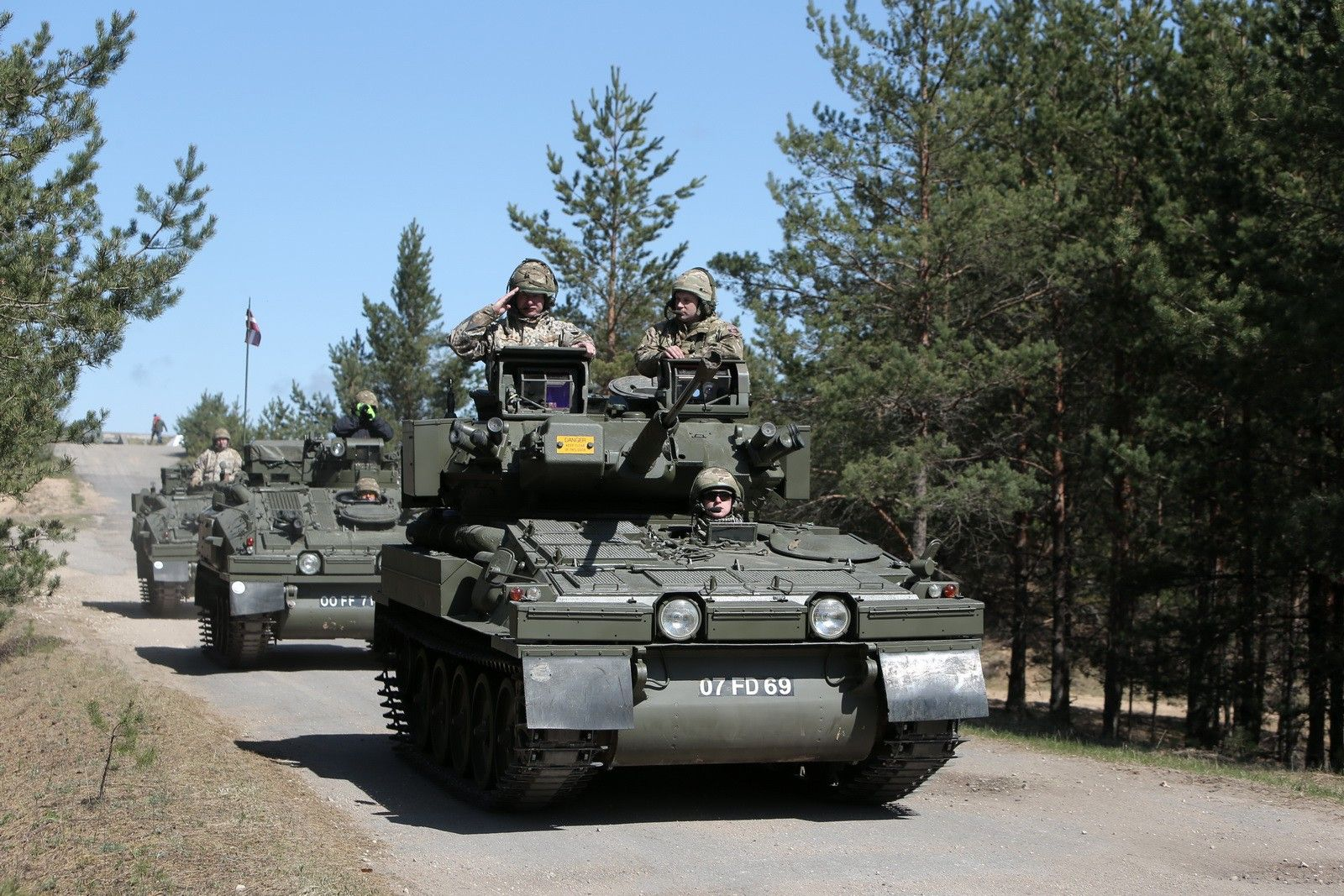 Fearing Russia, One of Europe's Smallest Armies Just Bought a Bunch of Armored Vehicles — War Is Boring — Medium