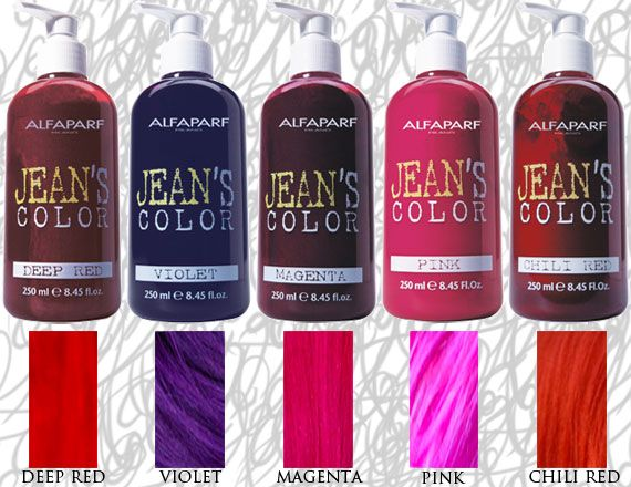 Vibrant, temporary creamy colors based on vegetable dyes give hair ...