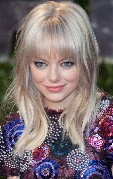 Emma Stone Celebrity Style With Images Medium Hair Styles