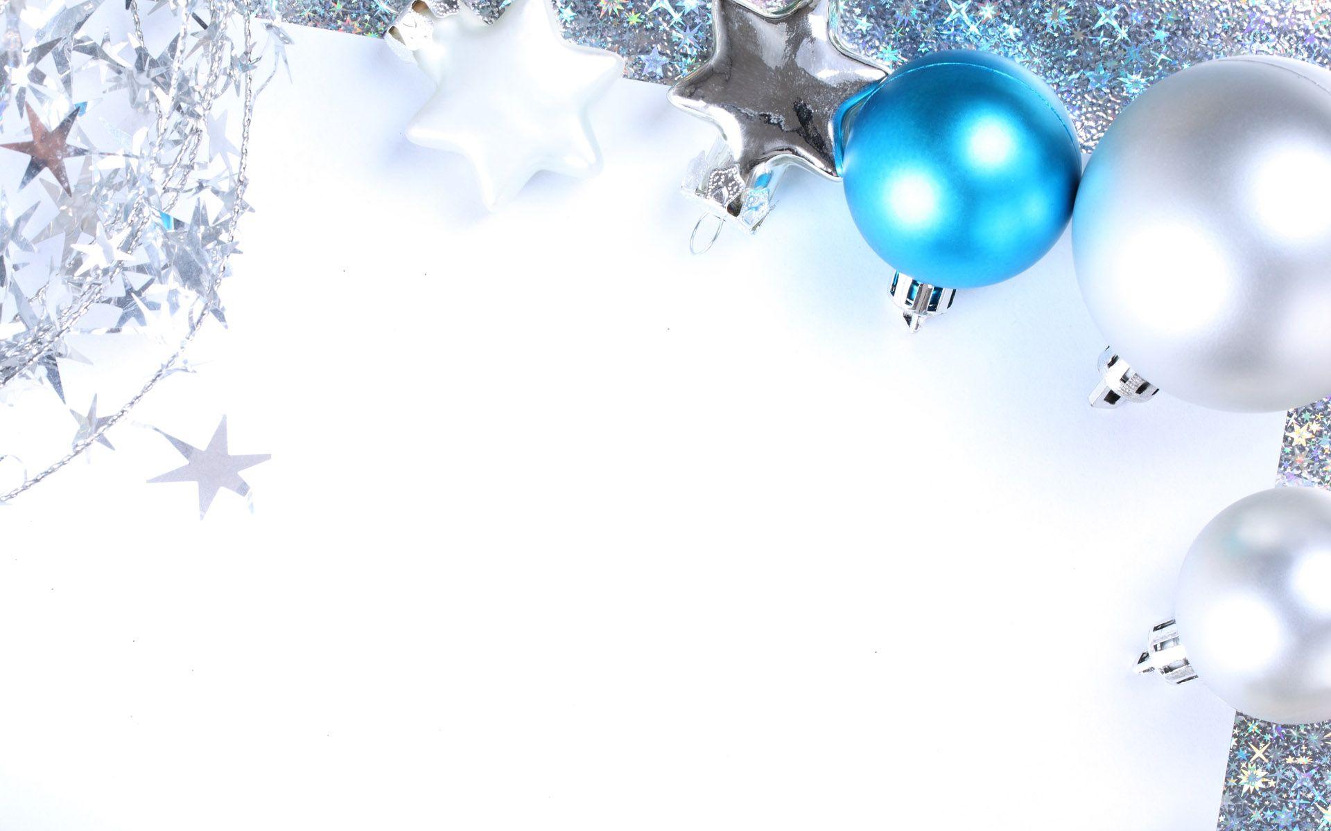 Image For Christmas Wallpaper Blue And Silver Christmas