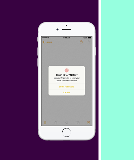 Make Your iPhone More Secure With This 2-Minute Trick #refinery29  http://www.refinery29.com/2016/04/108179/ios-9-3-note-lock-how-to