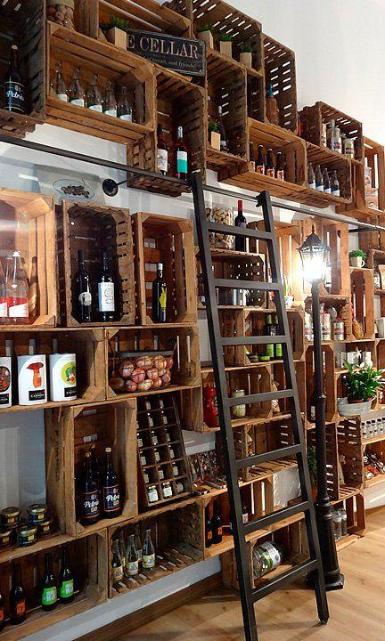Tu tienda de alimentos locales y productos de proximidad en Barcelona |  Restaurant de luxe, Bar salon et Idée déco bar