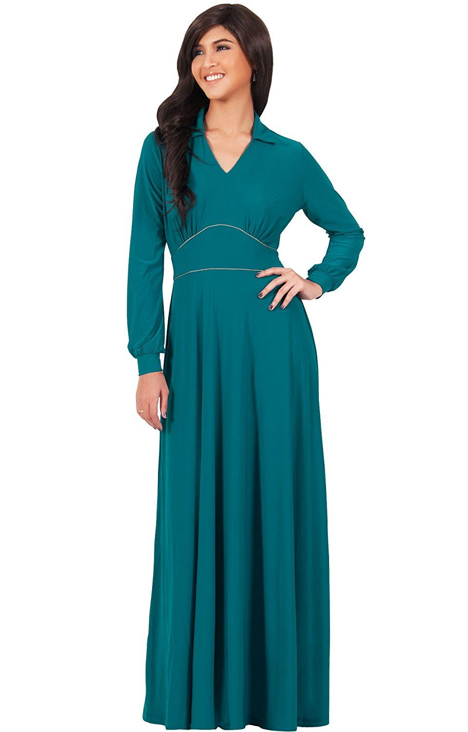 Winter Semi-Formal Maxi Dresses