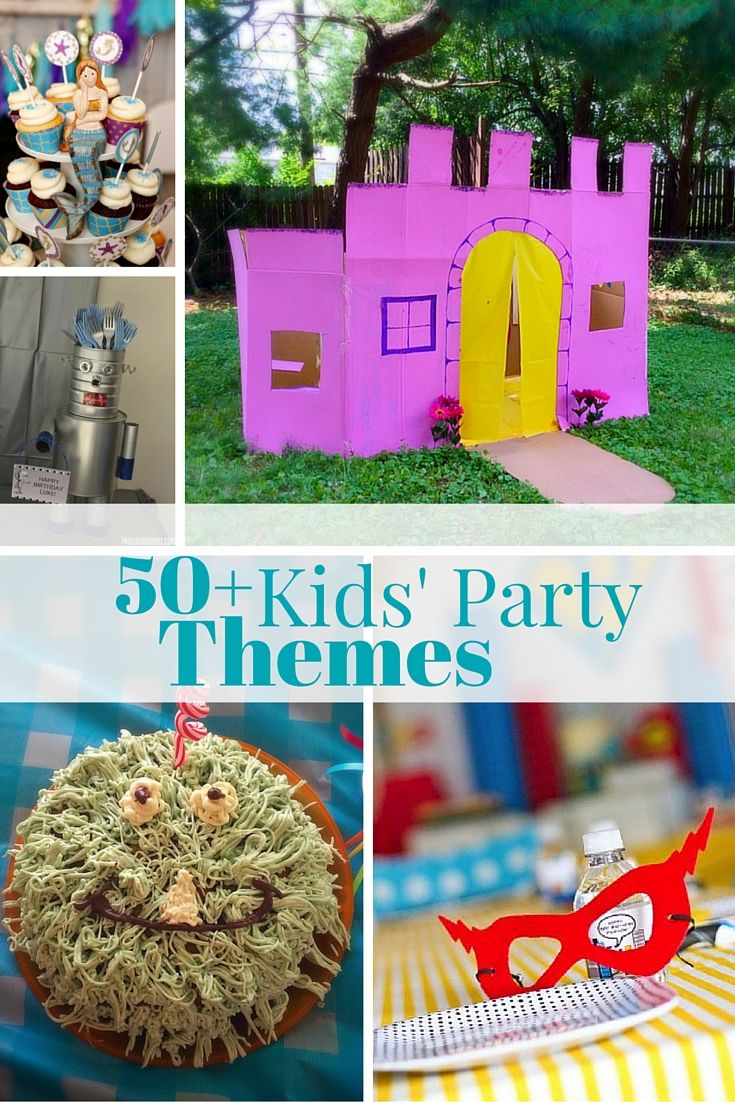 Kids Party Theme Roundup With Images