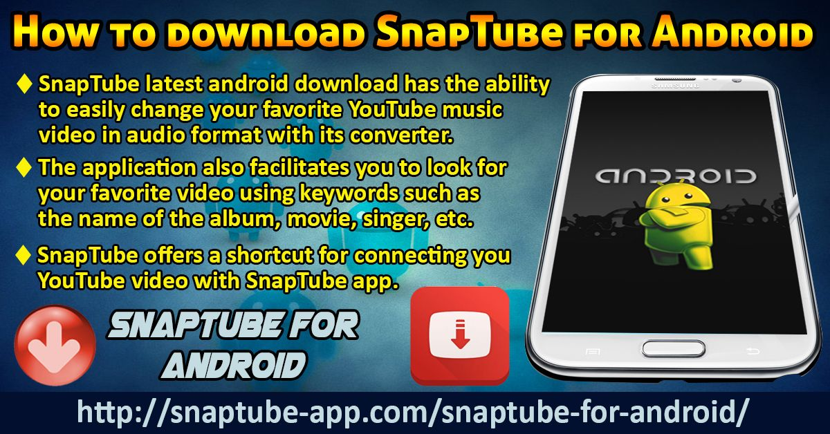 Pin on SnapTube For Android Download
