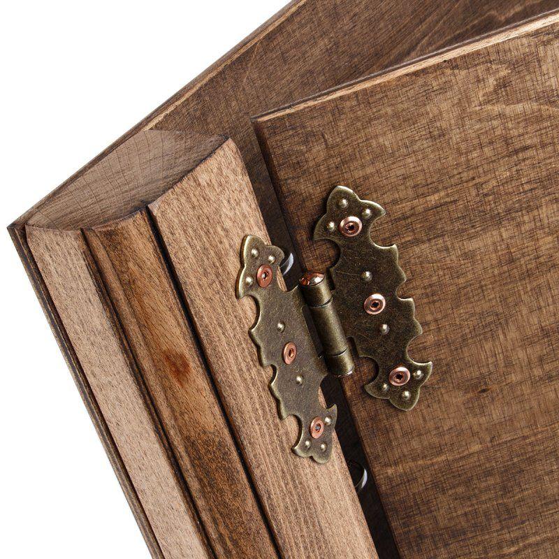 Dark Presentation Folder Wooden A4 Ring Folder Of Beech