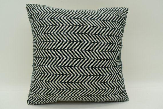12x12 Pillow Cover Herringbone Pillow Decorative Pillow Black Pillow Cotton Pillow Outdoor Pillow 12x12 Pillows Ethnic Pillow Mn 30x30 65 Cotton Pillow Pillows