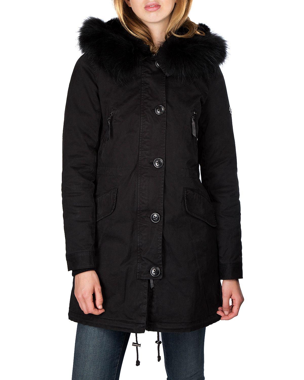 Kop Aspen 515 Ltd Parka Black Black Fur Fran Blonde No 8 Pa Zoovillage Marke Blonde No 8 Produkttyp Vinterjackor Pris 3149 Sek Jacka Klader Black