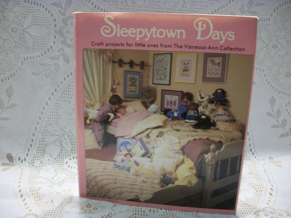 Sleepytown Days Craft Book Craft projects by LovedOnceMoreVintage, $10.00