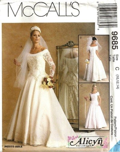 Collection Wedding Dress Sewing Pattern Pictures - Weddings Pro