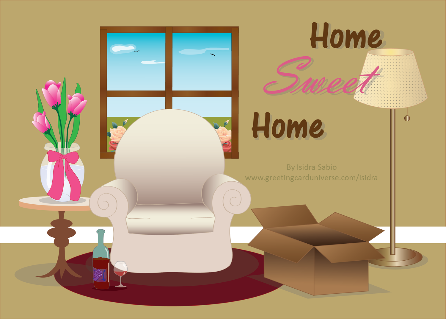 Congratulations on your new home greeting card home sweet home congratulations on your new home greeting card home sweet home elegant house warming kristyandbryce Image collections