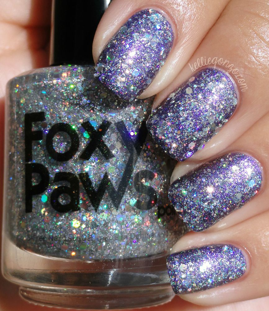 Foxy Paws - Diamandis over Starring Role | my nails | Pinterest | Swatch