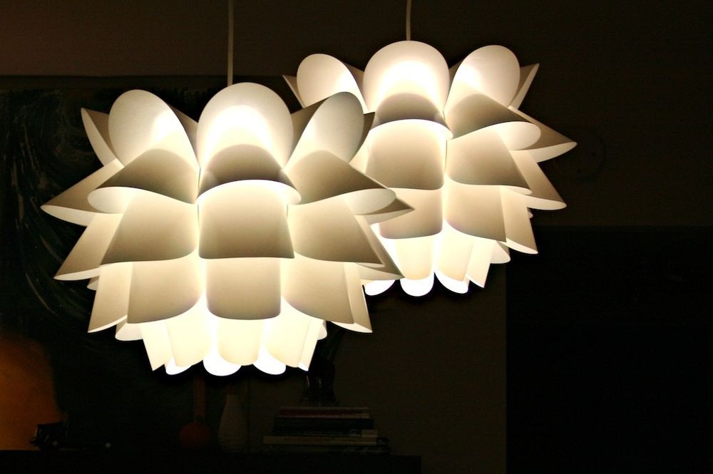 Ikea knappa pendant lamp artichoke inspired mid century modern light new nip ikea modern