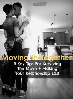 Tips For Couples Moving In Together