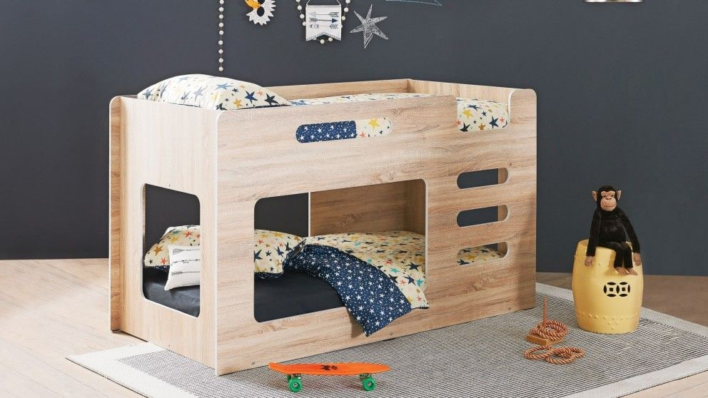 Peekaboo Single Bunk Bed Kids Beds Suites Bedroom Beds
