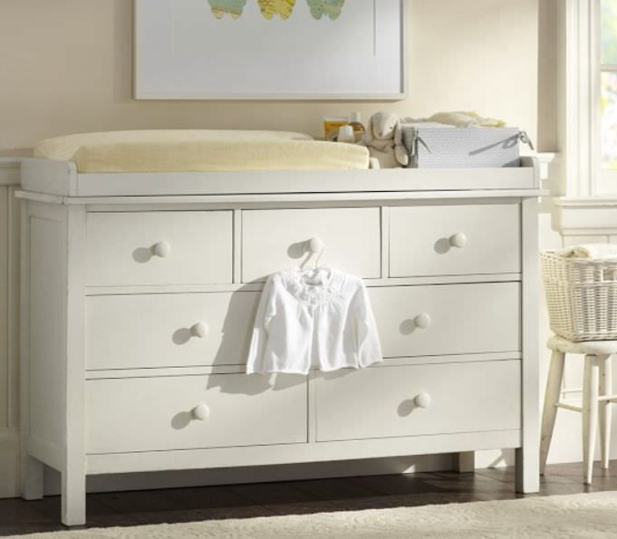 Table A Langer Mixte Kendall Extra Wide Pottery Barn Kids Chambre