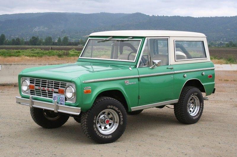 71 Grabber Green By Tom S Bronco Ford Bronco Classic Bronco
